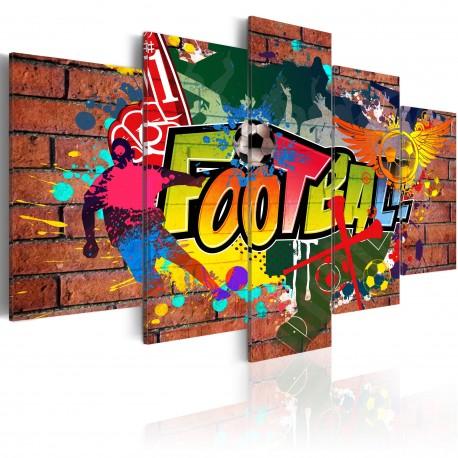 Tableau  football (graffiti)