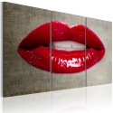 Tableau - Female lips