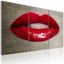 Tableau - Female lips