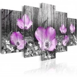 Tableau - Flore forestière