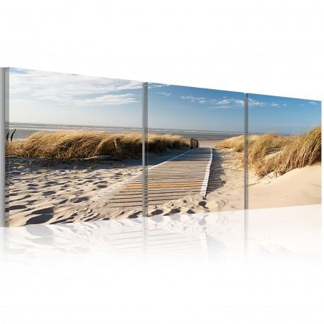 Tableau  Beach (Triptych)