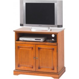 Meuble banc tv pin miel de style anglais r alis en pin for Meuble tv xxl style louis philippe en pin