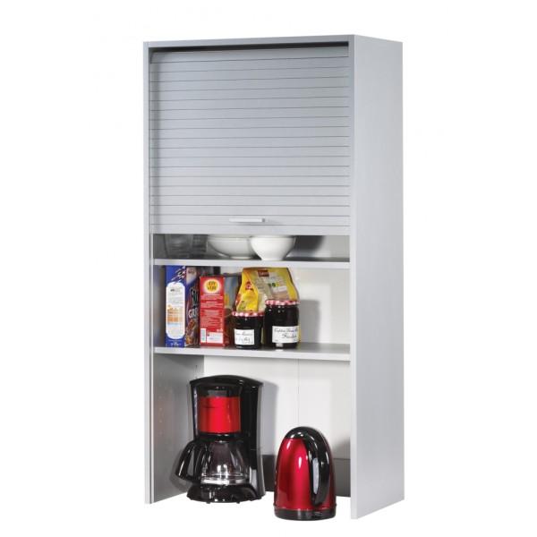 Meuble haut de cuisine aluminium largeur 60 cm hauteur 123 for Meuble 60 cm de large