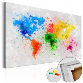 Tableau en liège - Tableau en liège: expressionnisme mondial