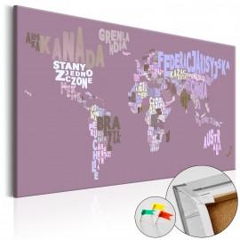 Tableau en liège - Fairytale World (PL) [Cork Map]