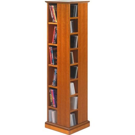 Tour range cd dvd merisier 28 etag res beaux meubles pas chers - Meuble de rangement cd ...