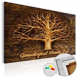 Tableau en liège - Family Tree [Corkboard]
