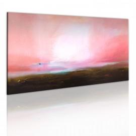 Tableau peint à la main - Horizon lointain