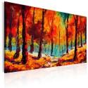 Tableau peint à la main - Artistic Autumn