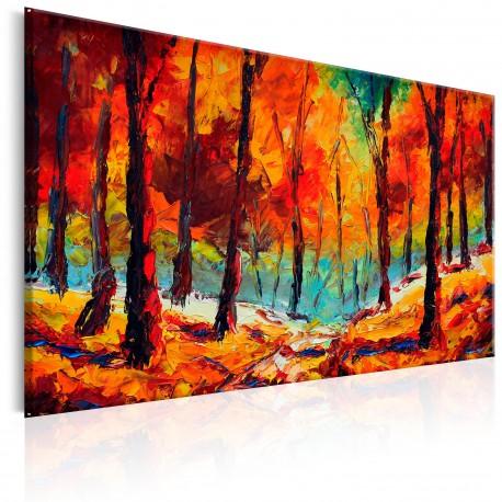 Tableau peint à la main  Artistic Autumn
