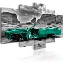 Tableau - Green car