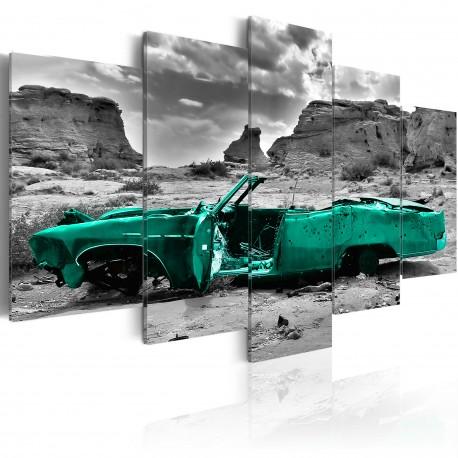 Tableau  Green car