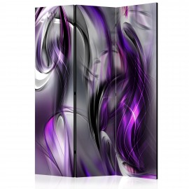 Paravent 3 volets - Purple Swirls [Room Dividers]