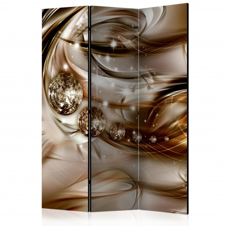 Paravent 3 volets  Chocolate Tide [Room Dividers]