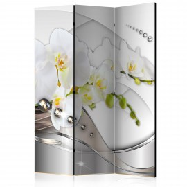 Paravent 3 volets - Pearl Dance of Orchids [Room Dividers]