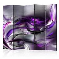 Paravent 5 volets  Purple Swirls II [Room Dividers]