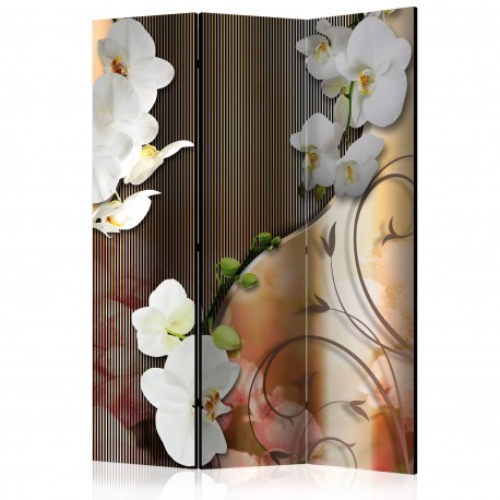 Paravent 3 volets  Orchid [Room Dividers]