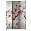 Paravent 3 volets - Concrete Orchid [Room Dividers]