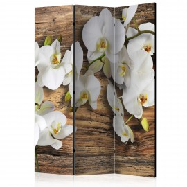 Paravent 3 volets - Forest Orchid [Room Dividers]