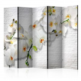 Paravent 5 volets - The Urban Orchid II [Room Dividers]