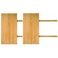 Lot de 2 Allonges pour Table de Salle à Manger 220 cm