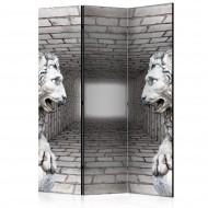 Paravent 3 volets  Stone Lions [Room Dividers]