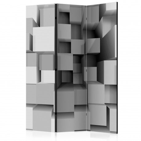 Paravent 3 volets  Geometric Puzzle [Room Dividers]