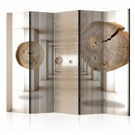 Paravent 5 volets  Futuristic Forest II [Room Dividers]