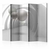 Paravent 5 volets  White Tunnel II [Room Dividers]