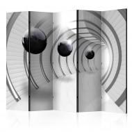 Paravent 5 volets  Futuristic Tunnel II [Room Dividers]