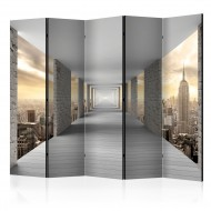 Paravent 5 volets  Skyward Corridor II [Room Dividers]