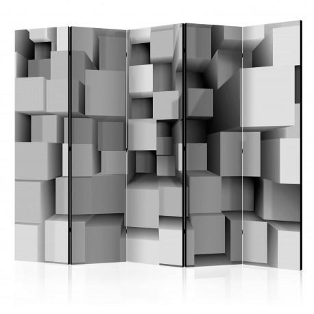 Paravent 5 volets  Geometric Puzzle II [Room Dividers]