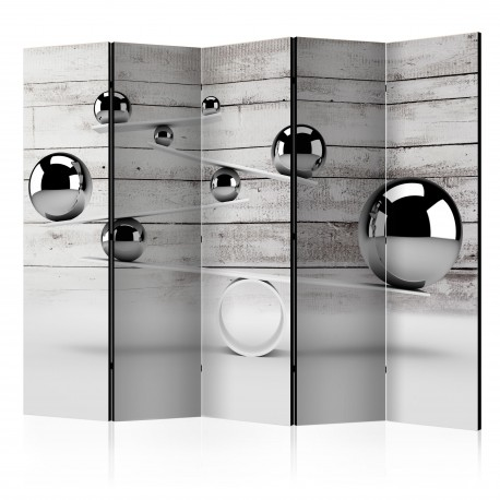 Paravent 5 volets  Balance II [Room Dividers]