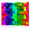 Paravent 5 volets - Colourful Cubes II [Room Dividers]