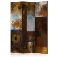 Paravent 3 volets  Winter Landscape [Room Dividers]
