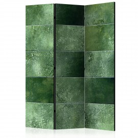 Paravent 3 volets - Green Puzzle [Room Dividers]