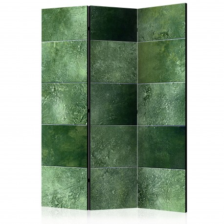 Paravent 3 volets  Green Puzzle [Room Dividers]