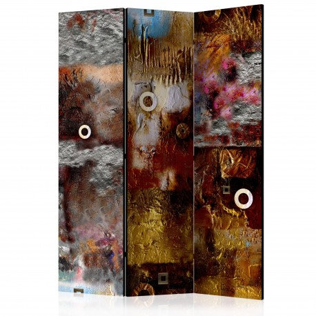 Paravent 3 volets  Painted Abstraction [Room Dividers]
