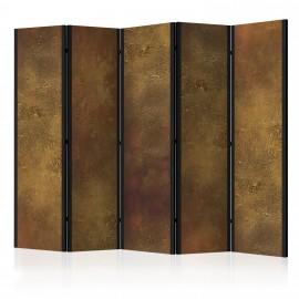 Paravent 5 volets - Golden Temptation II [Room Dividers]