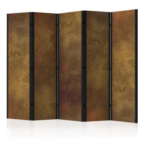 Paravent 5 volets  Golden Temptation II [Room Dividers]