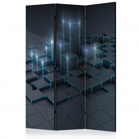 Paravent 3 volets  Black City [Room Dividers]