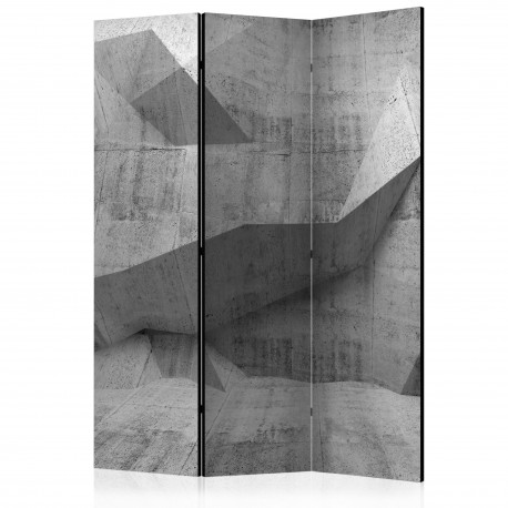 Paravent 3 volets  Concrete Geometry [Room Dividers]