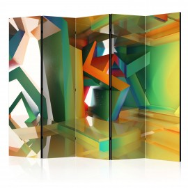 Paravent 5 volets - Colourful Space II [Room Dividers]