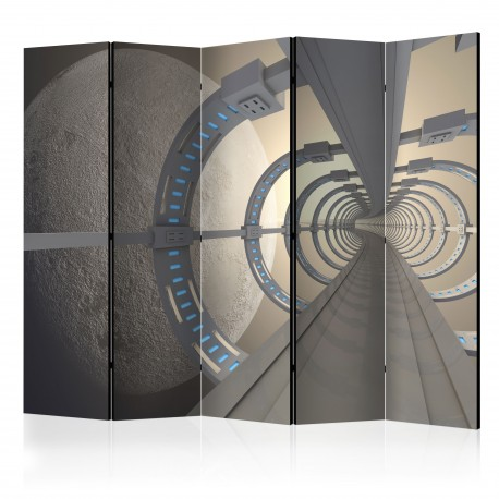 Paravent 5 volets  Cosmic Tunnel II [Room Dividers]