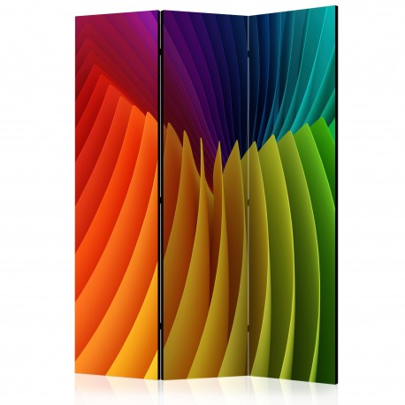Paravent 3 volets  Rainbow Wave [Room Dividers]