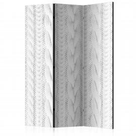 Paravent 3 volets - White Knit [Room Dividers]
