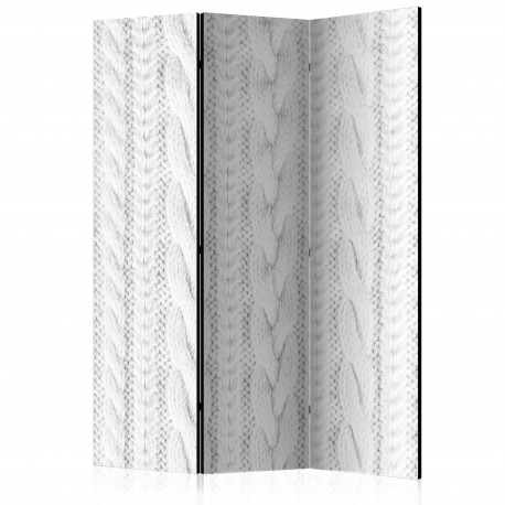 Paravent 3 volets  White Knit [Room Dividers]