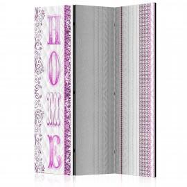 Paravent 3 volets - Pink Home [Room Dividers]