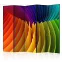 Paravent 5 volets - Rainbow Wave II [Room Dividers]