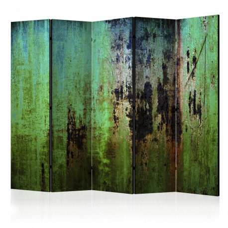 Paravent 5 volets  Emerald Mystery II [Room Dividers]